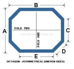 Octagon Asymmetrical (Uneven Sides)