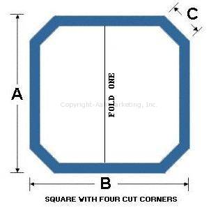 Square with Four Cut Corners